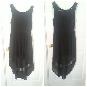 A Black long dress